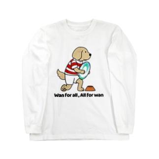 ラグビー(両面) Long sleeve T-shirts
