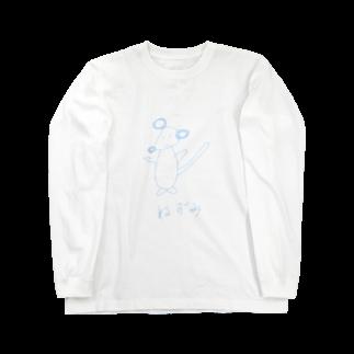 simono0501の絵心がないネズミシリーズ Long sleeve T-shirts