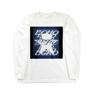 Logic RockStar  illustration Official StoreのECHO  Long sleeve T-shirts