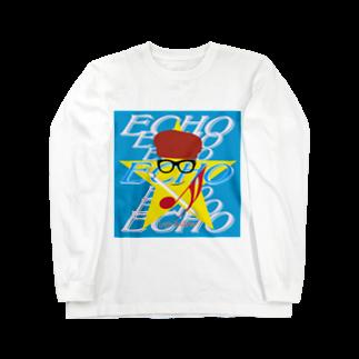 Logic RockStar  illustration Official StoreのECHO  Long sleeve T-shirts