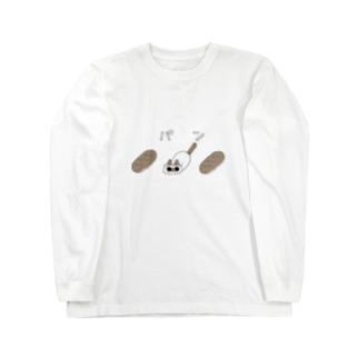 ネコパン Long sleeve T-shirts