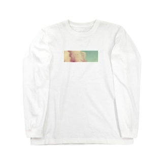 質素に Long sleeve T-shirts