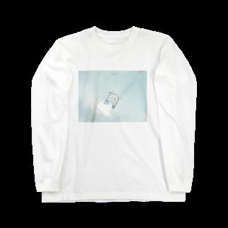 木口さんの雲からひょこん Long sleeve T-shirts