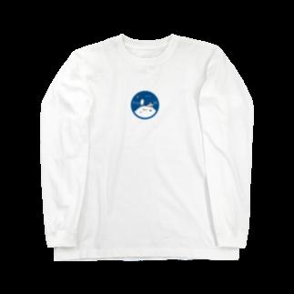 Aki Miyoshiの宇宙の説明書  青 Long sleeve T-shirts