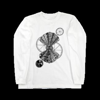 ぽよっとちよっとのホタテレモン Long sleeve T-shirts