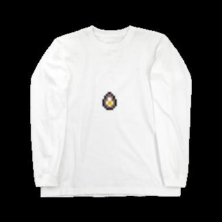 カットボスの煮卵 Long sleeve T-shirts