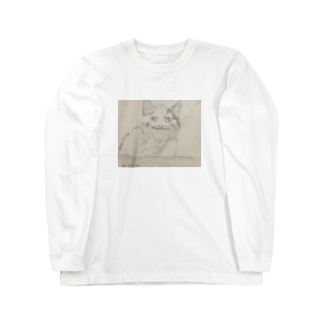 梅のneko Long sleeve T-shirts