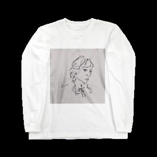 ____m.styleのアンニュイgirl Long sleeve T-shirts