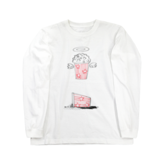 opossumの死んだポップコーン Long sleeve T-shirts