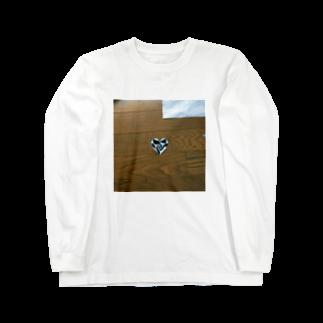 うみつき(:]ミのハート Long sleeve T-shirts