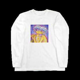 shiroikirin_のふたりなら Long sleeve T-shirts