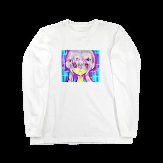 shiroikirin_のL Long sleeve T-shirts