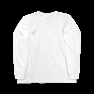 ぎょんすの寺子屋のきつね(YUKIZO) Long sleeve T-shirts