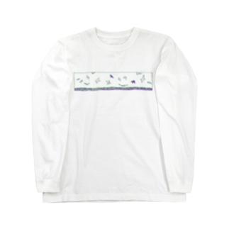 ウミドリ Long sleeve T-shirts