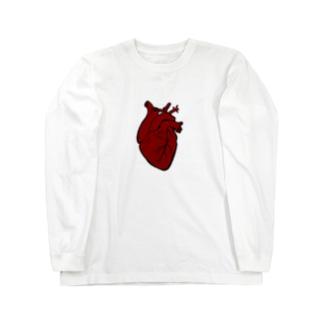 Heart Long sleeve T-shirts