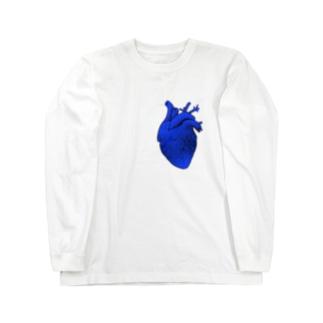 Heart   アヲ Long sleeve T-shirts