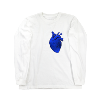 nemuriのHeart   アヲ Long sleeve T-shirts
