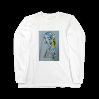 ✈オノウエ コウキの青いターバンの女? Long sleeve T-shirts