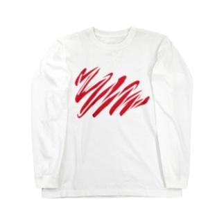 paint & erase Long sleeve T-shirts