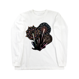 amasariの花火 Long sleeve T-shirts