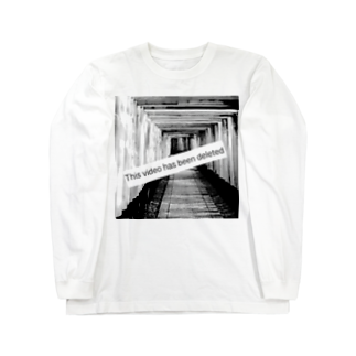 anarchyの見れない Long sleeve T-shirts