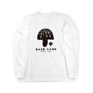 BASE-CAMPのBASE キノコ 01 Long sleeve T-shirts