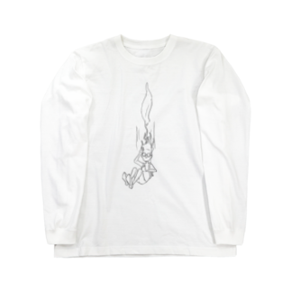 s_uppo_nの落ちる男 Long sleeve T-shirts