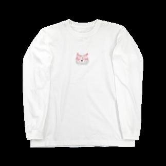 manamanawaruの砂キツネ Long sleeve T-shirts