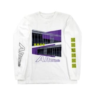 Alternate (両面) Long sleeve T-shirts