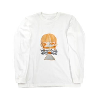 女の子 Long sleeve T-shirts