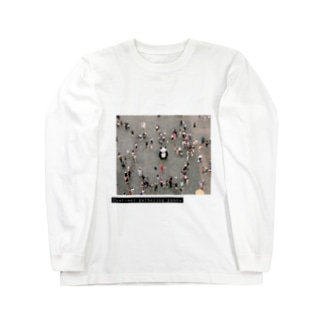 Customer gathering panda Long sleeve T-shirts
