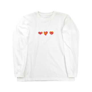arao0329のはーと Long sleeve T-shirts