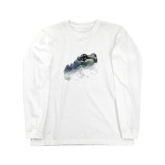 ミルキーフロッグくん Long sleeve T-shirts