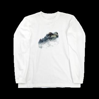 nemuriのミルキーフロッグくん Long sleeve T-shirts