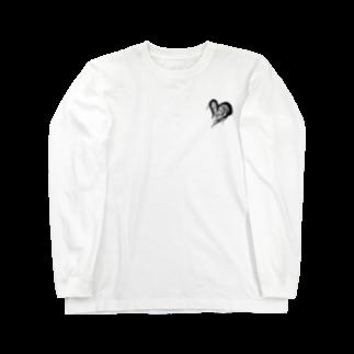johnny's martの毛羽立つハート Long sleeve T-shirts