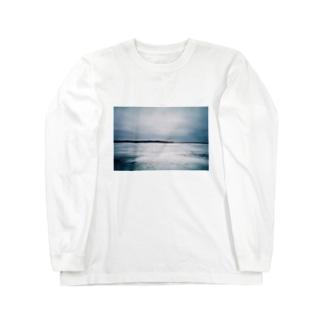 北海道の冬 Long sleeve T-shirts