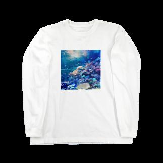 LRqWAQu9fOhj7WZのさかな Long sleeve T-shirts