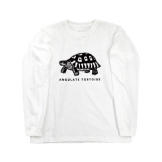 ソリガメさん Long sleeve T-shirts