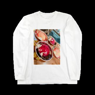LRqWAQu9fOhj7WZのアイス Long sleeve T-shirts
