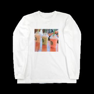 LRqWAQu9fOhj7WZのスタバ Long sleeve T-shirts