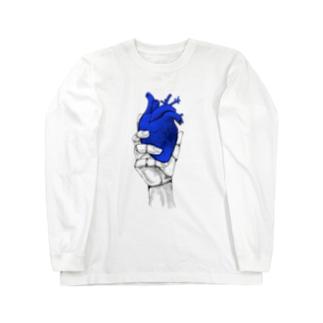 Heart オテテ Long sleeve T-shirts