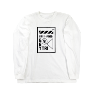 Ï∞n(イオン)のEgyptian Triangle near future Long sleeve T-shirts