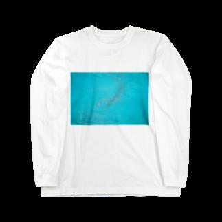 meiyoubuのblue Long sleeve T-shirts