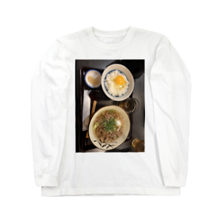 oo_hanamaru_ooの思い出ご飯① Long sleeve T-shirts