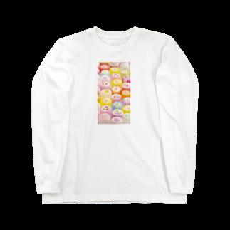 LRqWAQu9fOhj7WZのアメ Long sleeve T-shirts