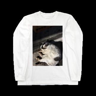kyouaku_drmのねこになった Long sleeve T-shirts