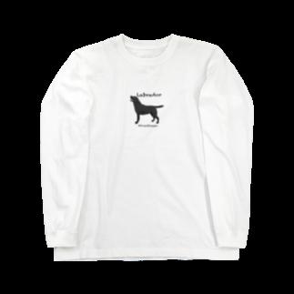 DOGLABのラブラドール @doglabtakako  Long sleeve T-shirts
