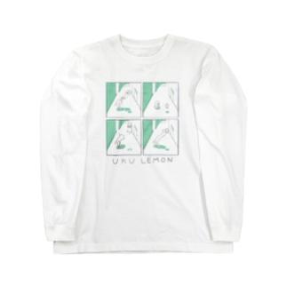 uku lemon Long sleeve T-shirts