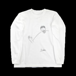 なっとう@カヘロケールの幸男くんの肩幅 Long sleeve T-shirts