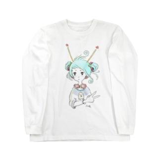 ピース✌️ Long sleeve T-shirts
